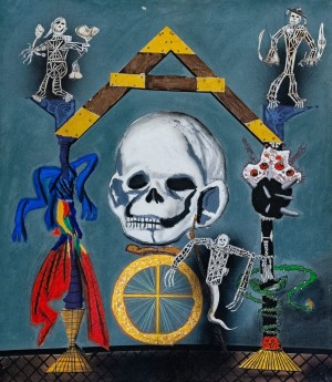 M. Tretiak 'Still Life With A Skull'