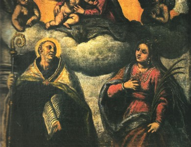 Jacopo Palma Madonna with Saints