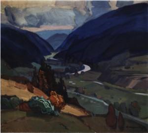 Синевир, 1979, п.о. 90х100