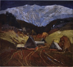 Снігова вершина, 1974, к.о. 67х70