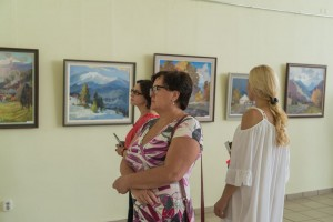 VASYL DUB PRESENTED JUBILEE EXHIBITION IN UZHHOROD