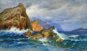 Stony Beach, 1896, oil on canvas, 122x206
