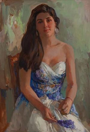 A. Kovach 'Antonina's Portrait'