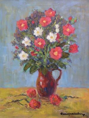 Польові квіти, 1980-ті, п.о.