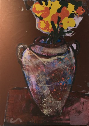 """Jug with Flowers"", 2017"