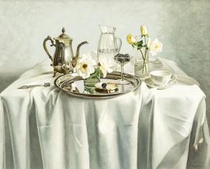 A. Landovska White Roses'