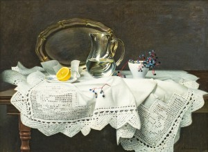 Still Life With Wild Grapes