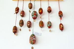 E. Levadska 'Pysanka', wood