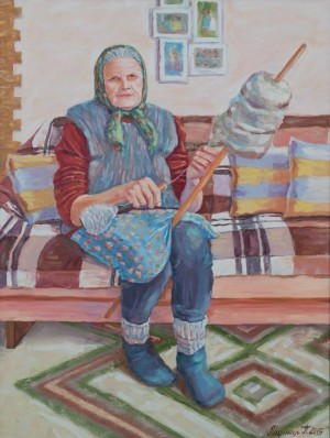 Grandmother, 2015, oil on canvas, 60x80
