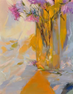 Floral Lyrics 2014 oil on canvas 75x60.