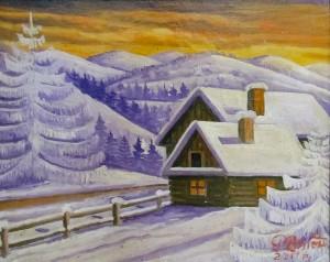 Радей В. 'Зима'