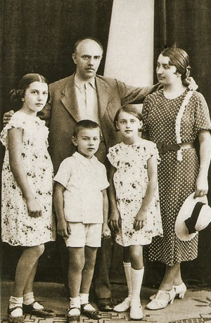 Family. End of the 1930s.