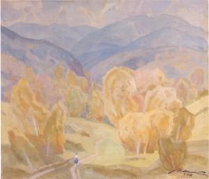 Сонячна галявина, 1983, п.о. 70х80