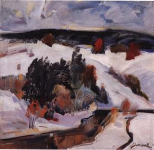 Сріблястий день, 1985, п.о. 65х70