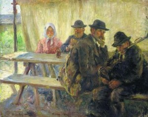 Under The Tent, 1903, oil on canvas, 82x105