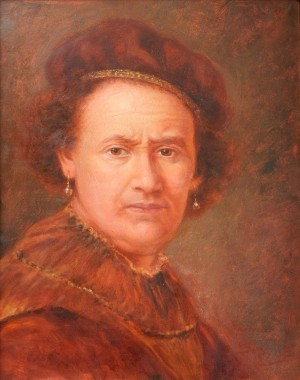 Portrait of Rembrandt Van Rein