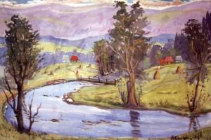 Літній пейзаж, 2006, п.о., 70х80
