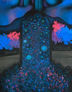 Дідик І. Мереживо звуків, 2012, папір, пастель, 70х50