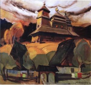 Кашшай А.  Архітектурна пам'ятка, 1983, п.о., 65х70