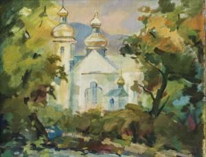 E. Levadska. Spiritual Temple