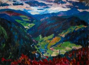 Синевирські гори, 2006, п.о., 65х75