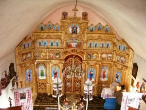 Іконостас, Георгіївська церква, с. Розтока