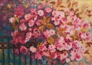 M. Myrtryk Cherry blossom