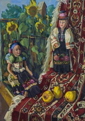 Павук Андрея Натюрморт з ляльками