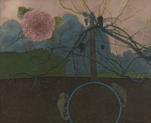 N. Ponomarenko 'Rose And Chameleon', 2016