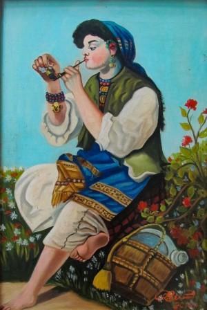 V. Radei 'Gypsy Woman'