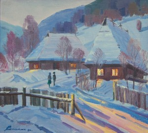 Зимовий вечір, 1980
