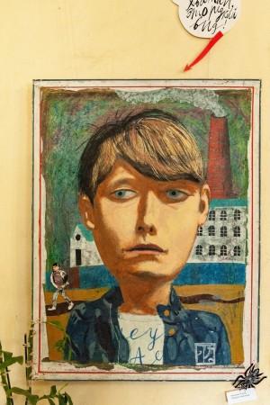 O. Tetiak 'A Boy's Portrait'