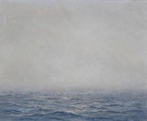 Морський пейзаж, 1955, 31х29