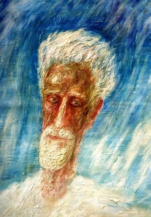 Портрет Д.А.Снегурского, 1985, кар.м.тем., 110х95