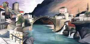 Roman Bridge at Mostar 1903