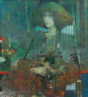 Portrait Of V. F, oil on canvas, 124,5х114