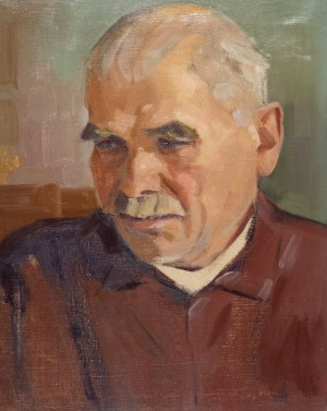 Fathers Portrait, 1961, oil on canvas, 50x40