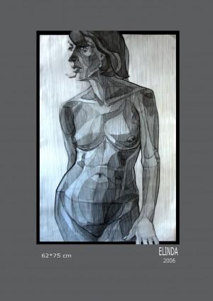 Елінда, 2006, 62х75