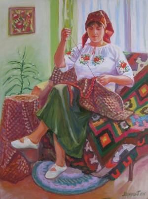 Портрет мами.п.о.60х80