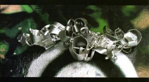 Композиція, 1996, алюміній, 49х11х16
