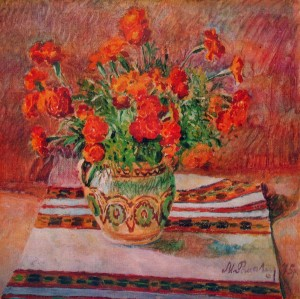 Marigold, 1975, oil on canvas