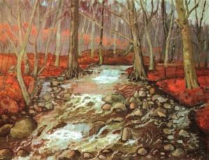 Лісовий потічок, 1975, 65х85
