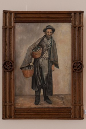 S. Silvai Portrait Of Jewish Merchant', oil on canvas
