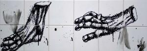 """""""Я кінцівки"""", 2010, п.акр., 30х90"""