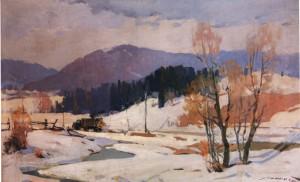 Турянська долина, 1959, п.о. 69х109