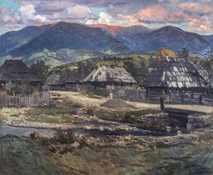 Synevyr, 1934, oil on canvas, 92х110,5