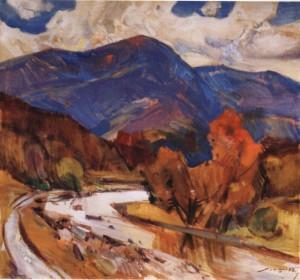 Ужанська осінь, 1985, п.о. 75х80