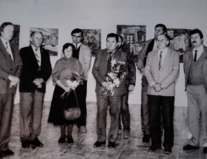Opening of the exhibition in Trebishov, October 30, 1990