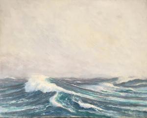 Морський пейзаж, о. на дошці, 40х50