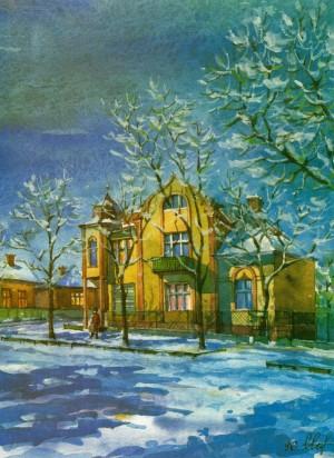 Житловий будинок по вул. Митній, 34, 1996, акв.